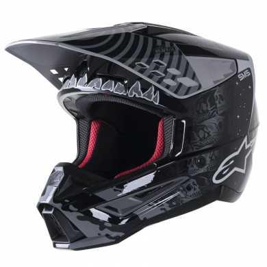 Jacket Evorider 2 leather Black Red